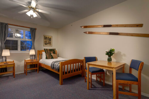 Two Twin Suite at the Courthouse Inn in Revelstoke, BC
