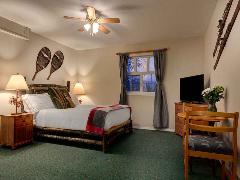 Queen Suite at the Courthouse Inn in Revelstoke, BC